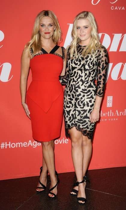Mommy-daugther bonding! Reese Witherspoon and her doppelgänger daughter Ava, attended the premiere of <i>Home Again</i> in L.A. on Tuesday, August 29. The star's 17-year-old daughter was proud to support her mom at her film event.