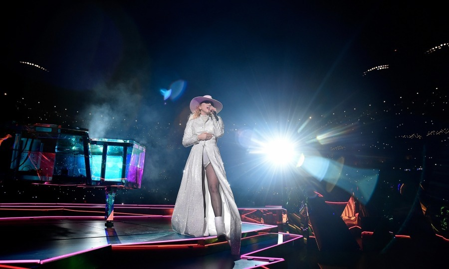 Find your light! Lady Gaga rocked Citi Field during her 'Joanne' World Tour NYC stop on August 28. 