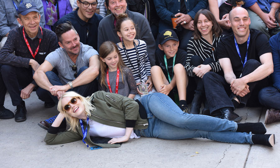 Emma Stone took a break from meeting fans at the Telluride Film Festival in Colorado on September 2.