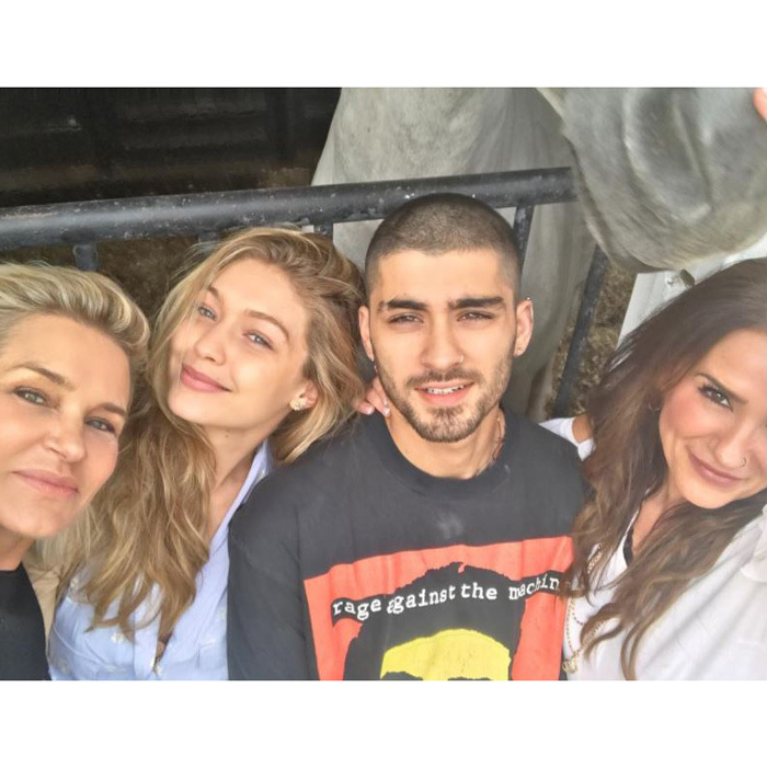 Gigi Hadid and Zayn Malik seem to have celebrated the Muslim holiday Eid-al-Adha with their mothers Yolanda Hadid and Trisha Malik. The couple, who have been together since late 2015, smiled for the photo that both moms shared on Instagram on September 1. 