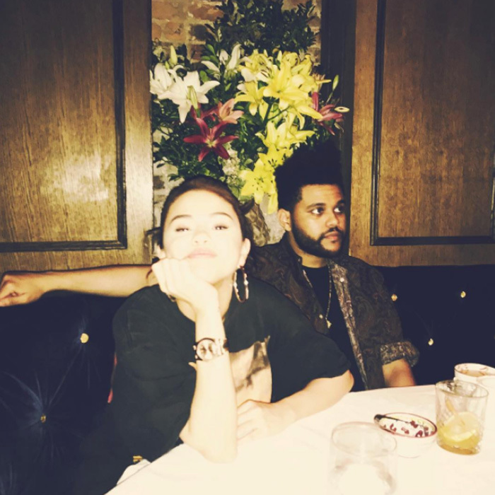 Selena Gomez and The Weeknd have been enjoying some down time in NYC. The <i>Fetish</i> singer shared a glimpse into their date night on September 4.