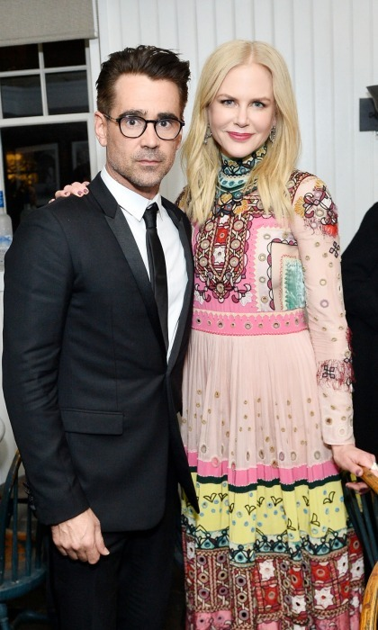 Colin Farrell and Nicole Kidman, in Valentino, celebrated their film <i>The Killing of a Sacred Deer</i> with an exciting premiere party hosted by Grey Goose Vodka and Soho House.