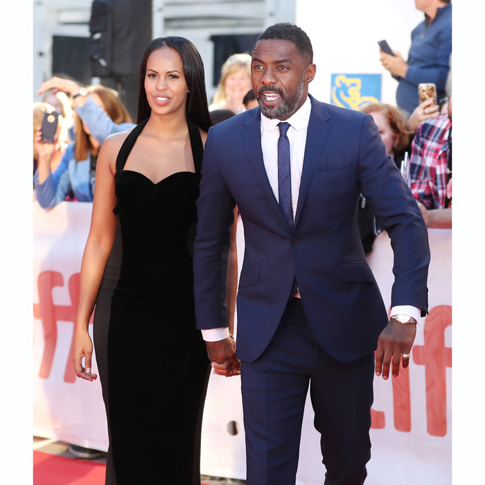 Idris Elba wasn't alone when he walked the red carpet at the premiere of <i>Molly's Game and The Mountain Between Us</i>. The handsome Hollywood star walked hand-in-hand with his gorgeous model girlfriend Sabrina Dhowre.