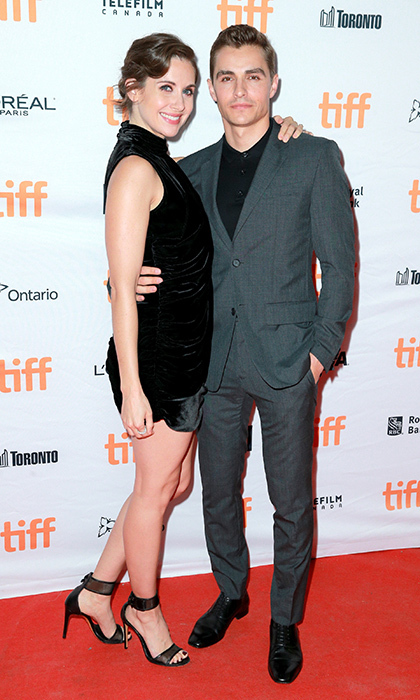Alison Brie and Dave Franco, who got married in March, made it a date night at <I>The Disaster Artist</I> premiere.