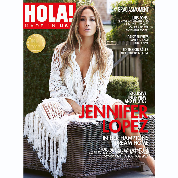 Jennifer Lopez opens her Hamptons home to talk her Spanish ...