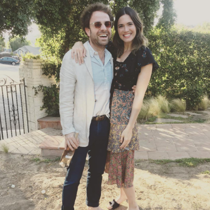 <b>Mandy Moore and Taylor Goldsmith</b>
