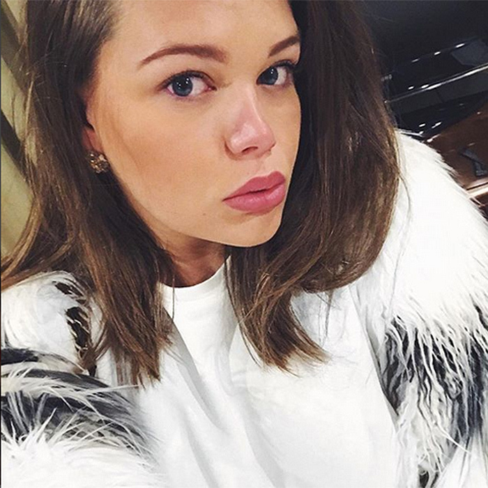 Princess Grace's 19-year-old granddaughter Camille Gottlieb – whose mom is Princess Stephanie of Monaco – was ready for her closeup with this selfie, snapped during a visit to Moscow.