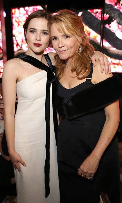 <b>Zoey Deutch and Lea Thompson</b>