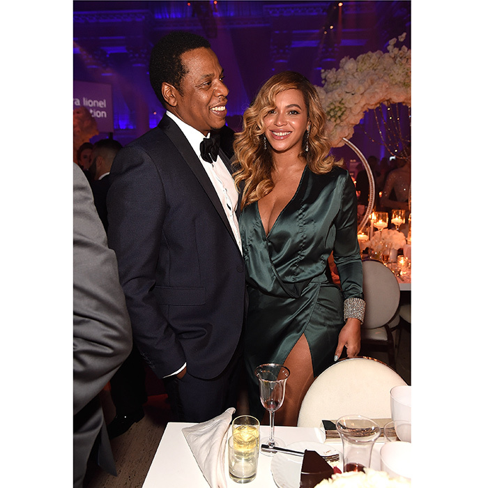 It was a true date night for Beyoncé and husband Jay Z, who were marking their first public outing as a couple since welcoming their twins, Rumi and Sir, in the spring. 