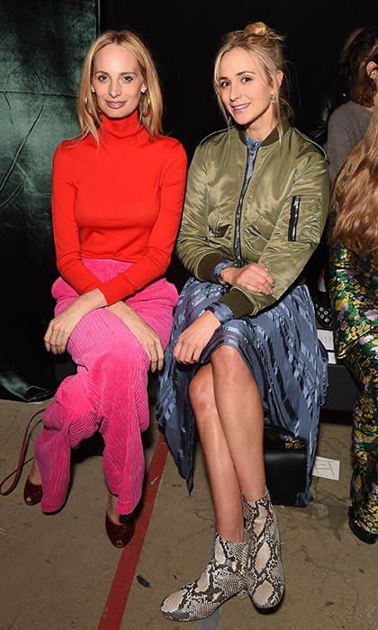 Lauren Santo Domingo and Princess Elisabeth von Thurn und Taxis checked out the new looks at Erdem at The Old Selfridges Hotel on September 18.