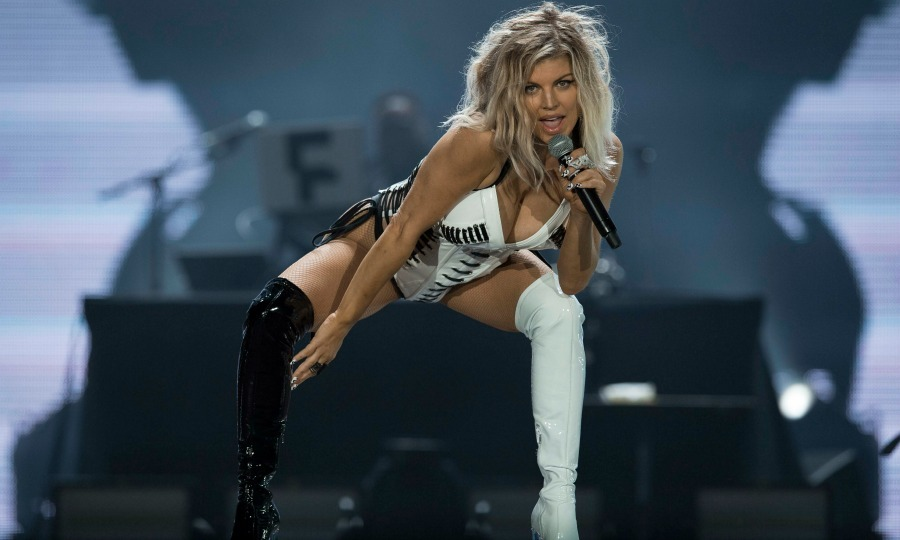 Fergie had all the right moves during her performance at the Rock in Rio festival on September 16 in Rio de Janeiro, Brazil.