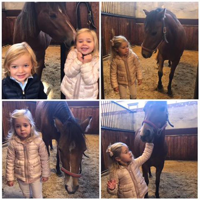 Princess Leonore of Sweden had an adorable day foaling around with her horse Heidi. The three-year-old Duchess of Gotland paid a visit to her namesake island where she reunited with her foal.