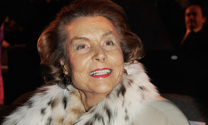 <B>Liliane Bettencourt – September 21</B>