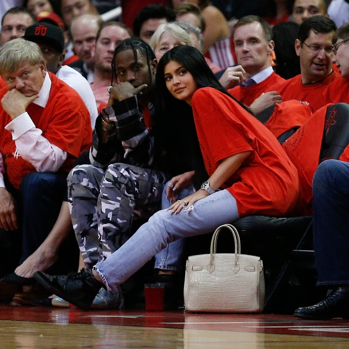 <b>Kylie Jenner and Travis Scott</b>
