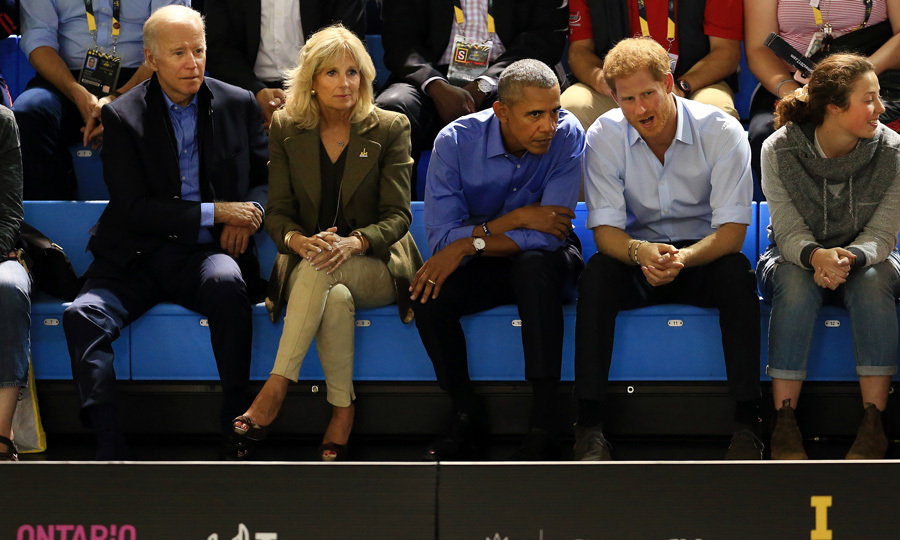 Former Vice President Joe Biden and Dr. Jill Biden also joined the old pals for the Invictus Games.