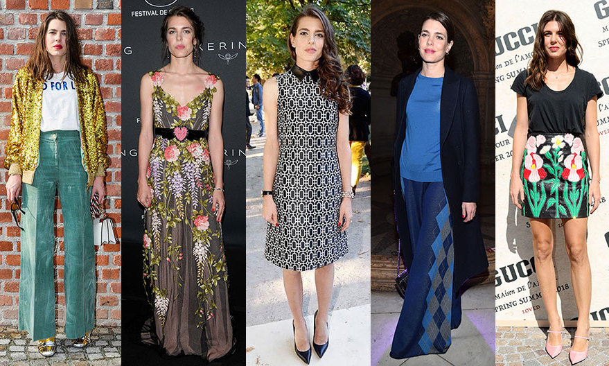 "A longtime Gucci muse and regular on the world's best-dressed lists, <a href=""https://us.hellomagazine.com/tags/1/charlotte-casiraghi"" target=""_blank""><strong>Charlotte Casiraghi</a></strong> has a reputation as a royal fashionista that extends well beyond Monaco. The stunning brunette is a Gucci muse and definitely has a fashionable pedigree. Her mother is Princess Caroline and her grandmother is the late Princess Grace of Monaco – also known as Hollywood actress and Hitchcock heroine Grace Kelly. In fact, thanks to her film star looks and red carpet charisma, Charlotte has often been compared to both her mom and her grandmother. 