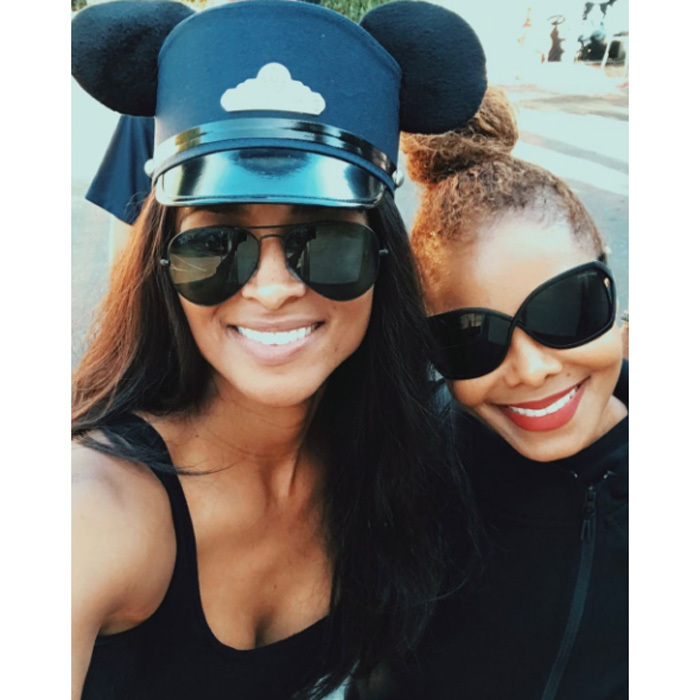 Janet Jackson and Ciara escaped to the happiest place on earth on October 10, 2017 to enjoy an epic playdate with their sons, Eissa and Future. The singers paid a fun-filled visit to Disneyland ahead of Janet's sold-out concert at the Hollywood Bowl.