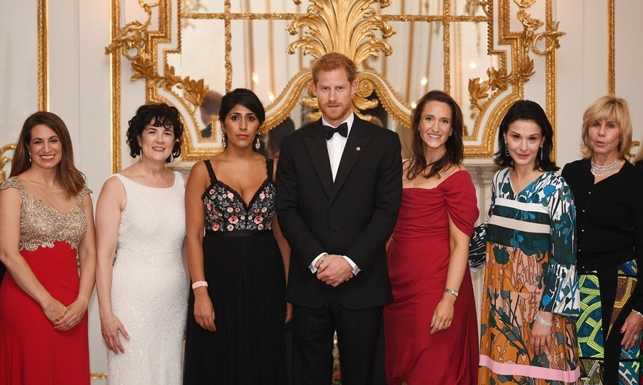 A night for the ladies! Prince Harry was in good company – and well-dressed – during the 100 Women in Finance Gala. The Prince, who traded in his traditional suit for a tux and bow tie – attended the dinner hosted at the Victoria and Albert Museum on behalf of Wellchild.