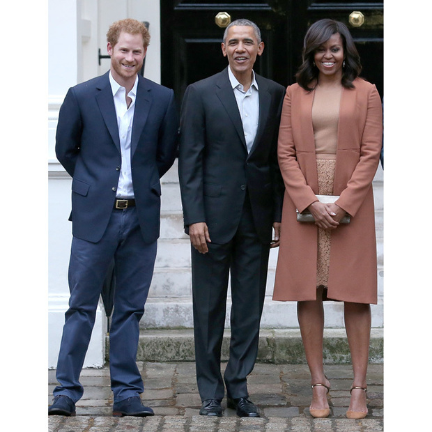 Prince Harry Will Spend Halloween In Chicago With The Obamas