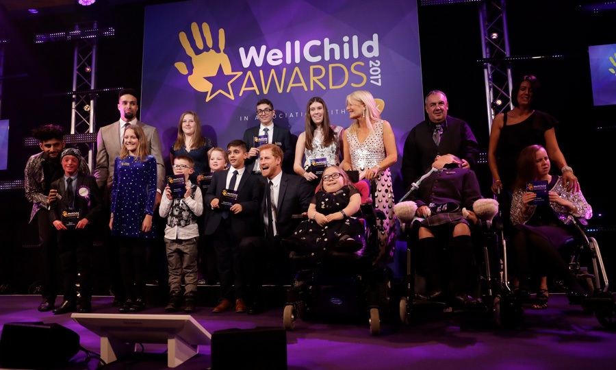 Prince Harry attended the WellChild Awards in London on October 17. This year marks 10 years of the royal's patronage of the charity, which cares for thousands of seriously ill children and their families. The annual awards celebrate the inspiring qualities of some of the country's seriously ill young people and the dedication of those who go the extra mile to keep children health and happy, including outstanding health, social care and education professionals.
