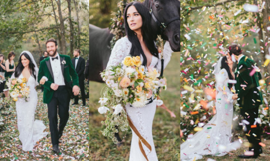 <b>Kacey Musgraves and Ruston Kelly</b>