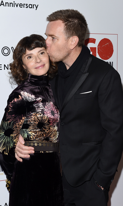 <b>Ewan McGregor and Eve Mavrakis</b>