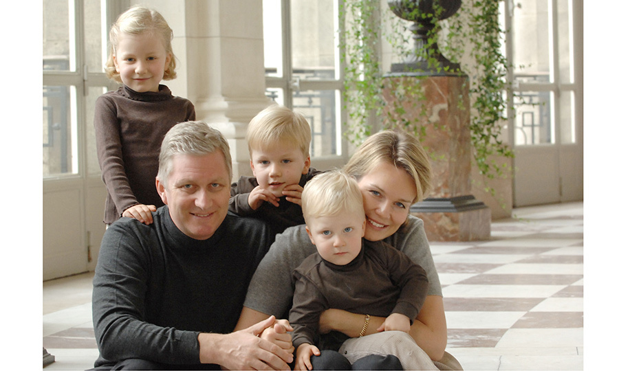 Princess Elisabeth lives with her family – including siblings Prince Gabriel, born in 2003, Prince Emmanuel, born in 2005, and Princess Eléonore, born in 2008 – in the Castle of Laeken, the official residence of the King of the Belgians. Seen here as the backdrop of a 2008 family photo where Elisabeth poses with her parents and brothers, the 18th century fortress is located about three miles north of Brussels.