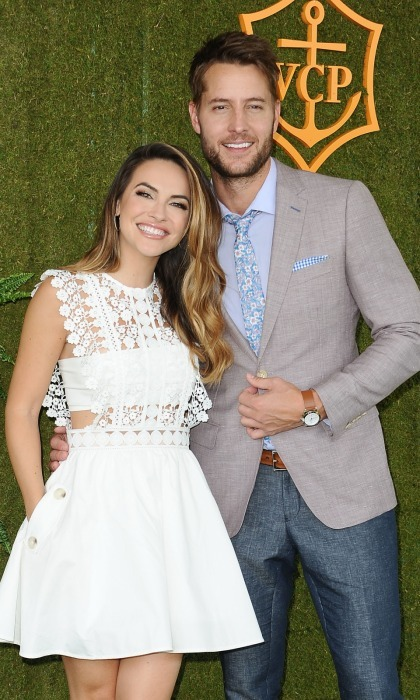 <b>Justin Hartley and Chrishell Stause</b>