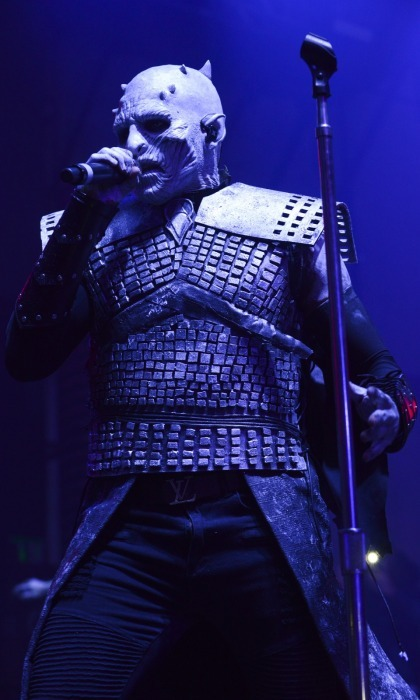 Are you in there, Jason Derulo? The crowd at the 2017 Maxim Halloween party 2017 was shocked when the <i>Ridin' Solo</i> singer took to the stage in this transformative costume. Donning intense latex prosthetics, the talent was unrecognizable as the Night King from <i>Game of Thrones</i>. He appeared as the horned leader of the White Walkers from the hit show while headlining the seasonal party.