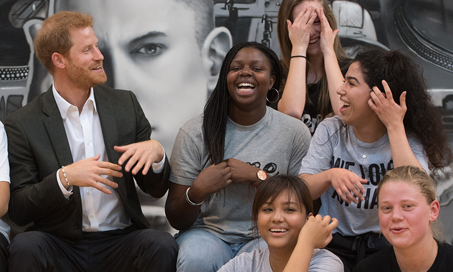 During his whirlwind visit to Copenhagen on October 25, Prince Harry visited young people at GAME, which uses sports to create lasting social change and inspires them to become local community role models. 