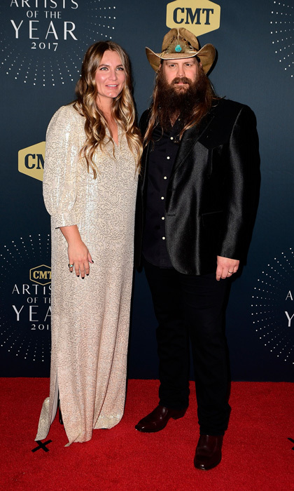 <b>Chris Stapleton and Morgane</b>