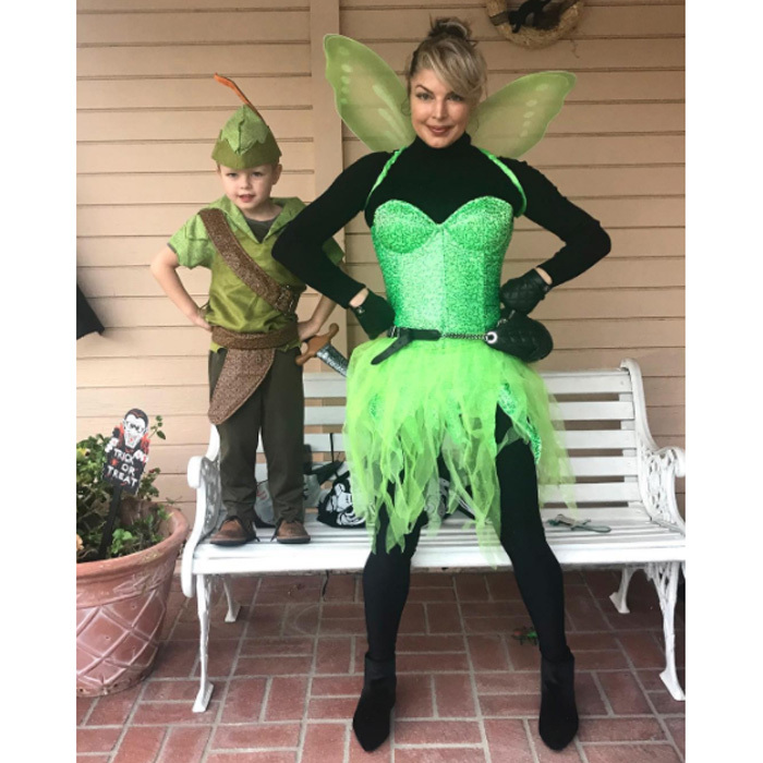 Fergie and her and Josh Duhamel's son were off to Neverland this Halloween. The <i>Double Duchess</i> singer dressed as Tinkerbell while the adorable four-year-old was Peter Pan.