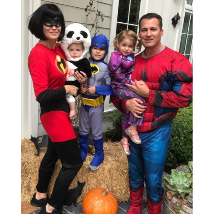 "Molly Sims and Scott Stuber showed off their superhero parenting skills as they dressed up in Disney costumes to take their three children trick-or-treating. The mom wrote on Instagram: ""Happy Halloween ❤️the Stuber's  Trick or treating here we come!  #tribeof5 #superstuber""