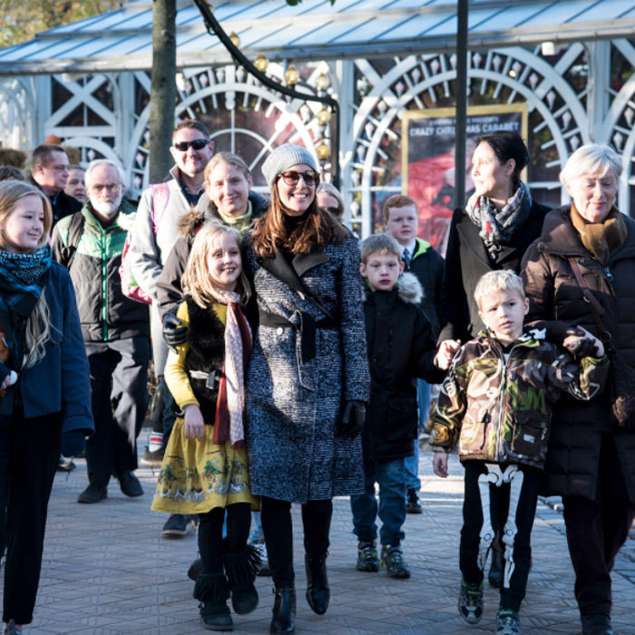 Princess Marie of Denmark invited children with autism, along with their siblings and parents to an afternoon of fun at Tivoli in Copenhagen. The Danish royal is a patron of the Danish National Autism Association.