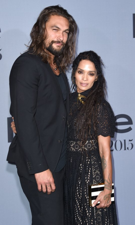 "<B>Jason Momoa and Lisa Bonet</B> Lisa and Jason tied the knot at their home in Topanga, California in October! The couple, who have been together for ten years and share two children – Lola Iolani, ten, and eight-year-old son Nakoa-Wolf - were rumored to have wed back in 2007, but actually wed in early October after obtaining a marriage license. The <I>Game of Thrones</I> actor has previously opened up about inviting Lisa, who has a daughter, actress Zoe Kravitz, with ex-husband Lenny Kravitz, on their first date. ""It was through mutual friends,"" he told the Huffington Post. ""It just happened on a serendipitous night and we just kind of met and I thought she left, but I was living out of a hotel and I invited her to the diner... I was a fool... She ended up liking me, so that was good enough."" Jason referred to Lisa as his wife prior to their wedding, telling CBC back in 2013: ""My wife being a very pretty woman. She's beautiful and I love her... My wife's Lisa Bonet. I'm a very lucky man."" Photo: Getty Images"