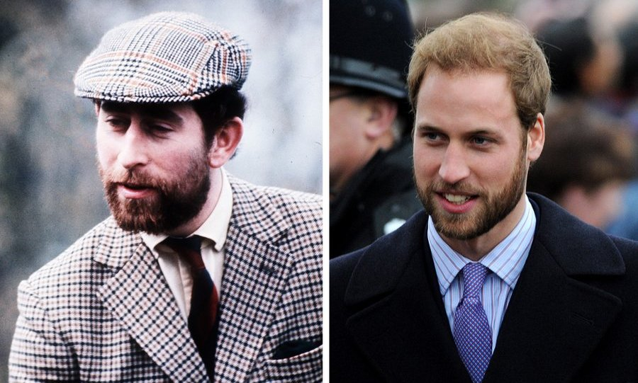 <B>PRINCE CHARLES AND PRINCE WILLIAM</B>