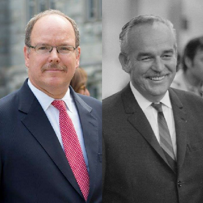 <b>PRINCE ALBERT AND PRINCE RAINIER</B>