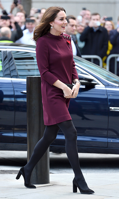 What could be even better than Kate Middleton's style? The royal's maternity wardrobe! Here's a look at nearly five years of the Duchess of Cambridge's expectant fashion while pregnant with Prince George, Princess Charlotte and baby number three!