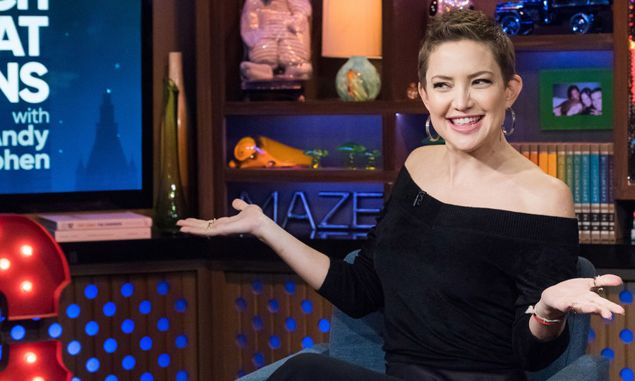 "Kate Hudson cleared up those rumors that circulated about her dating Brad Pitt when she stopped by <i>Watch What Happens Live</i>. ""That was the craziest rumor of all time. No, there's nothing true to that,'"" the <i>Pretty Fun</i> author told host Andy Cohen. ""As a matter of fact I hadn't actually seen him in, like, four years."" 