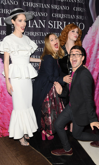 Forget Charlie, it was all about Christian Siriano's Angels at his <i>Dresses to Dream About</i> book party at the Rizzoli Flagship Store in NYC. Coco Rocha, Drew Barrymore and Christina Hendricks came out to support the designer at the Belvedere Vodka-sponsored bash.