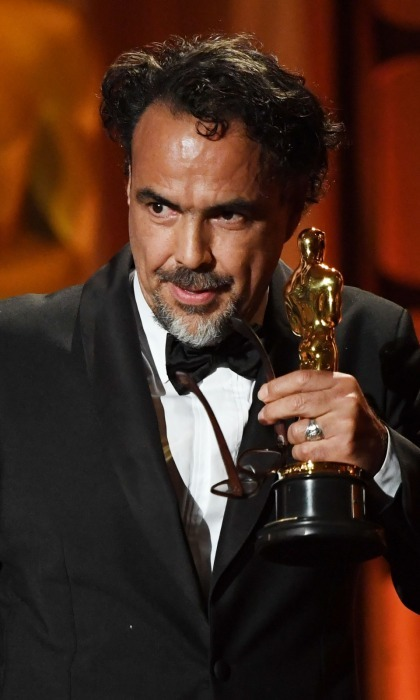"Alejandro González Iñárritu received a Special Award Oscar at the November ceremony, a prize that is rarely given out. The Academy's committee decided to recognize Alejandro's newest venture CARNE Y ARENA (translation: Meat and Sand), which premiered at the 2017 Cannes festival. Aiming to throw ""viewers into the harsh life of an immigrant,"" the project is a virtual reality installation at LACMA. The 54-year-old Mexican film director and screenwriter gave a moving speech upon his acceptance of the award.