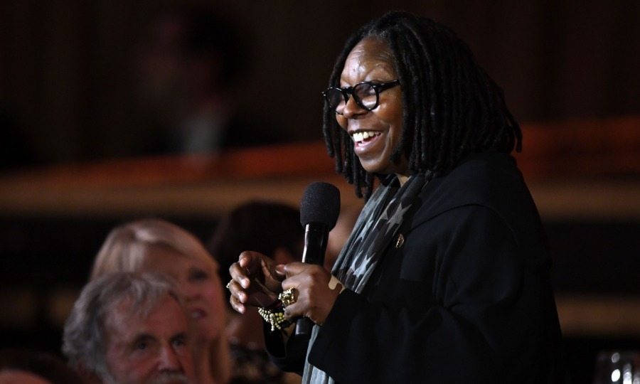 Whoopi Goldberg charmed the crowd as she spoke during the annual awards ceremony.