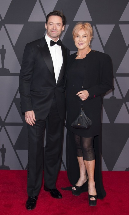 Hugh Jackman and his wife Deborra-lee Furness made for a cute couple at the 2017 Governors Awards.