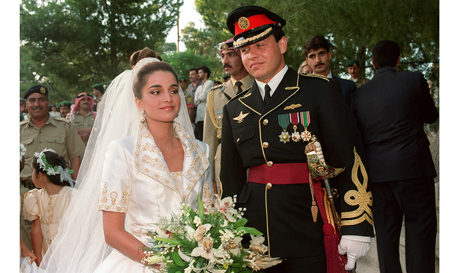 <B>King Abdullah II and Queen Rania of Jordan</B>