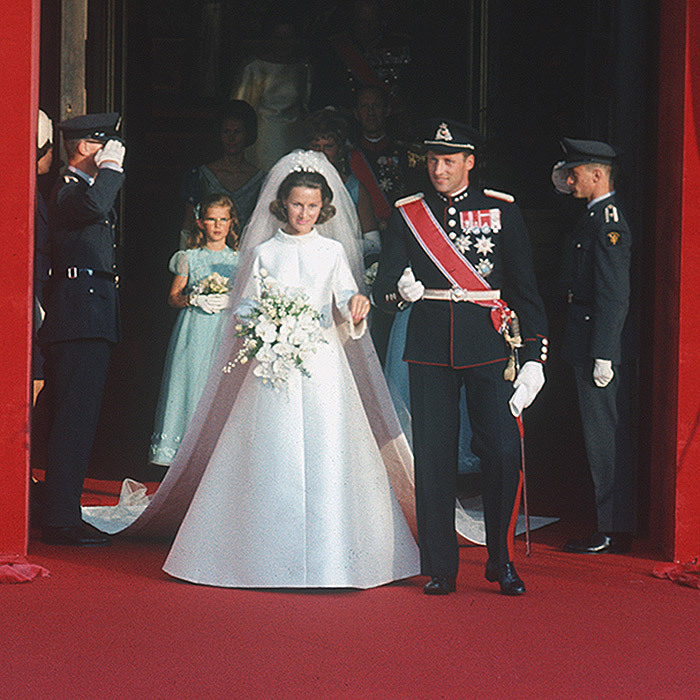 <b>King Harald V and Queen Sonja of Norway</B>
