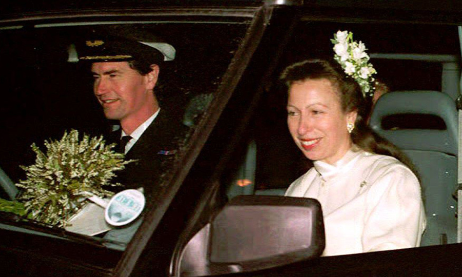<B>Princess Anne and Vice Admiral Timothy Laurence</B>