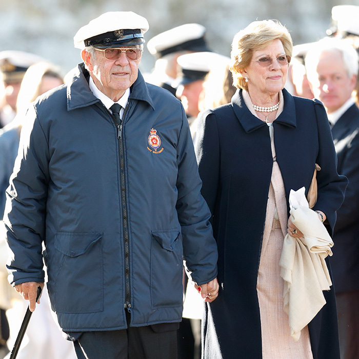 NOW: The King and his wife were exiled in 1967, and the Greek monarchy was abolished in 1973. The longtime royal pair, who have five children – Crown Prince Pavlos, Princess Alexia, Prince Nikolaos, Princess Theodora and Prince Philippos – settled in London, but returned to Greece in 2013. 
