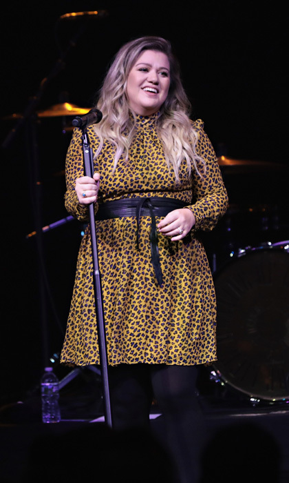 Kelly Clarkson performed for SiriusXM subscribers at the Gramercy Theater. The former <i>American Idol</i> singer sang her hits and songs from her new <i>Meaning of Life</i> album.