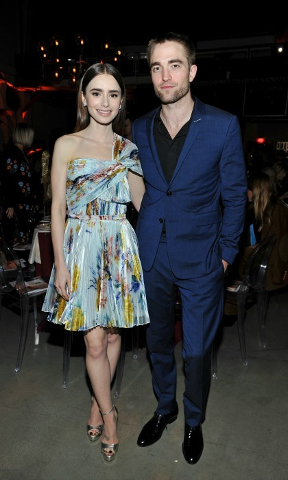 Lily Collins and her friend Robert Pattinson teamed up for a great cause at the 2017 GO Campaign Gala at NeueHouse Los Angeles on November 18. GO Campaign aims to raise awareness and funds to help orphans and vulnerable children throughout the world.