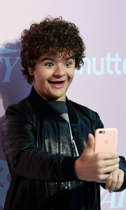 Stranger selfie! Gaten Matarazzo had some fun on the carpet for Variety's 1st annual Hitmakers luncheon at Sunset Tower on November 18 in L.A. The young actor was among talent like Kendrick Lamar (who was honored with the Variety Hitmaker of the Year Award), Hailee Steinfeld (who was given the Variety Crossover Artist Award) and DJ Khaled (who received the Mediabase PowerPlaylist Award).